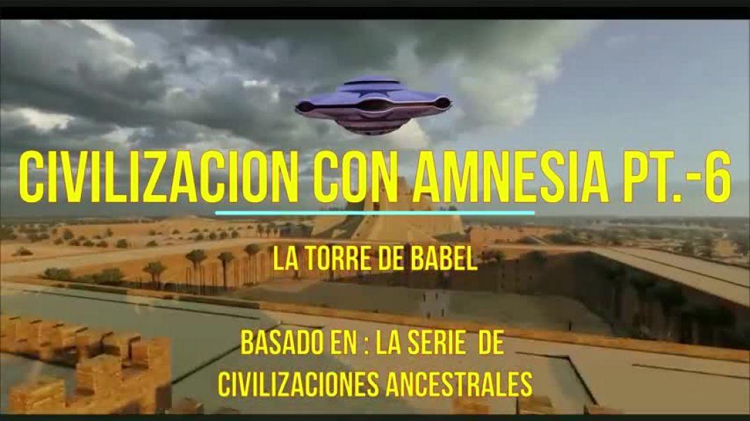 Civilizacion con Amnesia. Babel. Antonio Cisneros