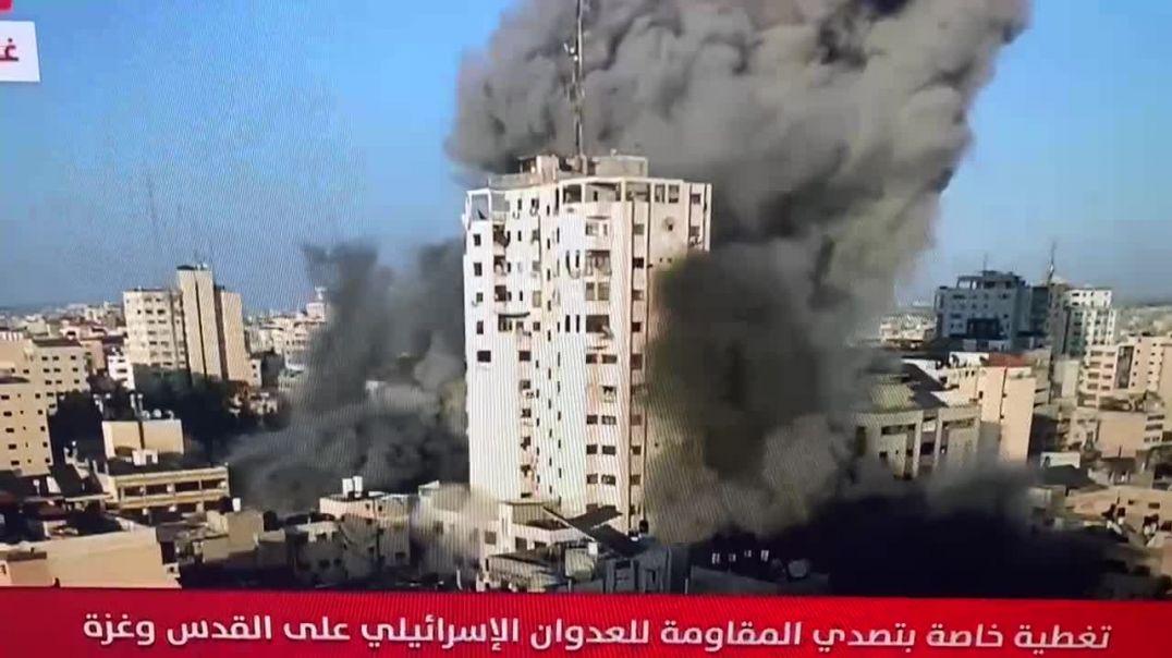 Conflicto judeo palestino - Los juden bombardean Gaza.