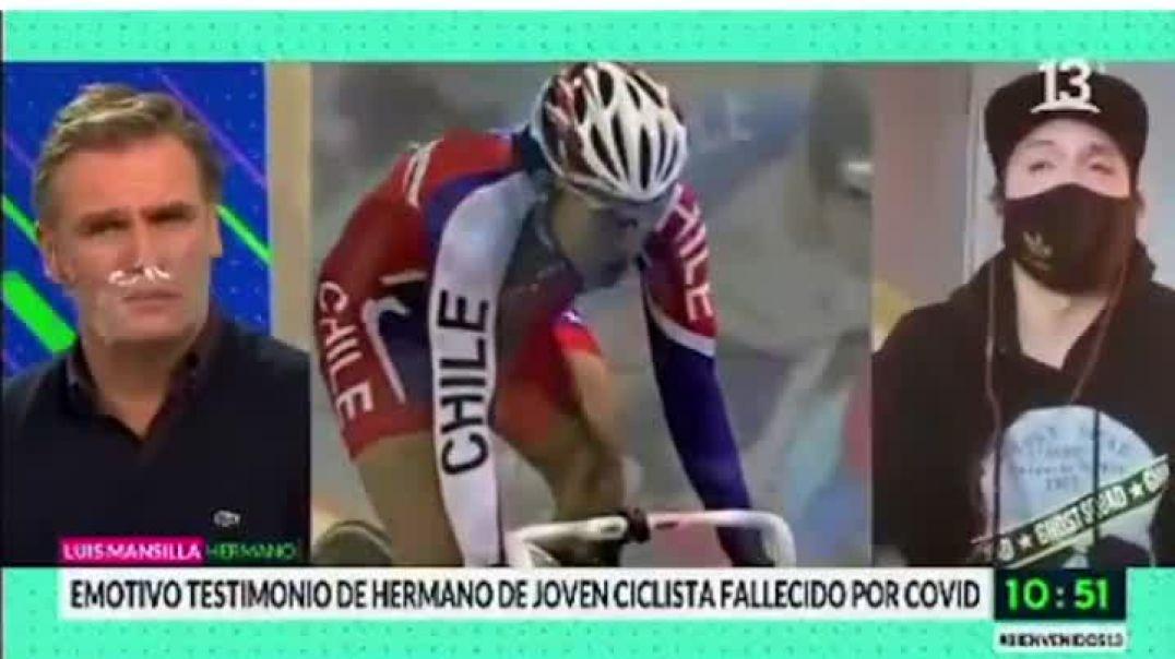 """Testimonio de hermano de ciclista supuestamente """"fallecido por Covid"""""""