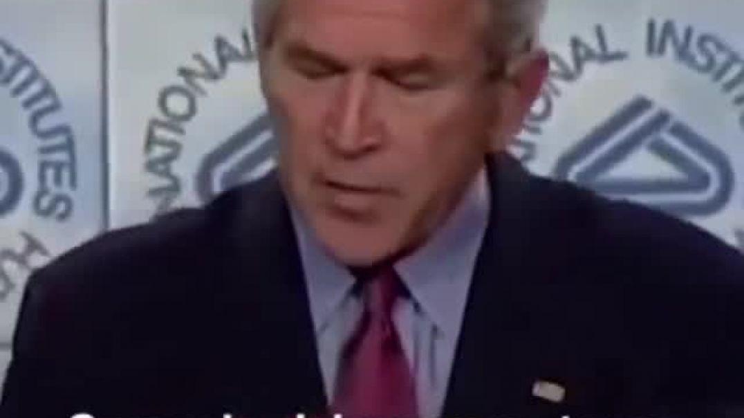 George W. Bush sabía de la pandemia.