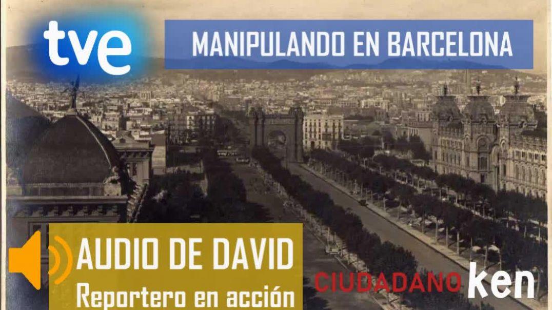 SIGUEN MANIPULANDO LAS NOTICIAS EN TVE - BARCELONA 24/05/2021