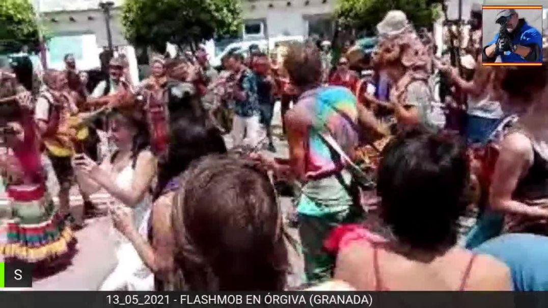 13_05_2021 Flashmob en Órgiva (Granada)