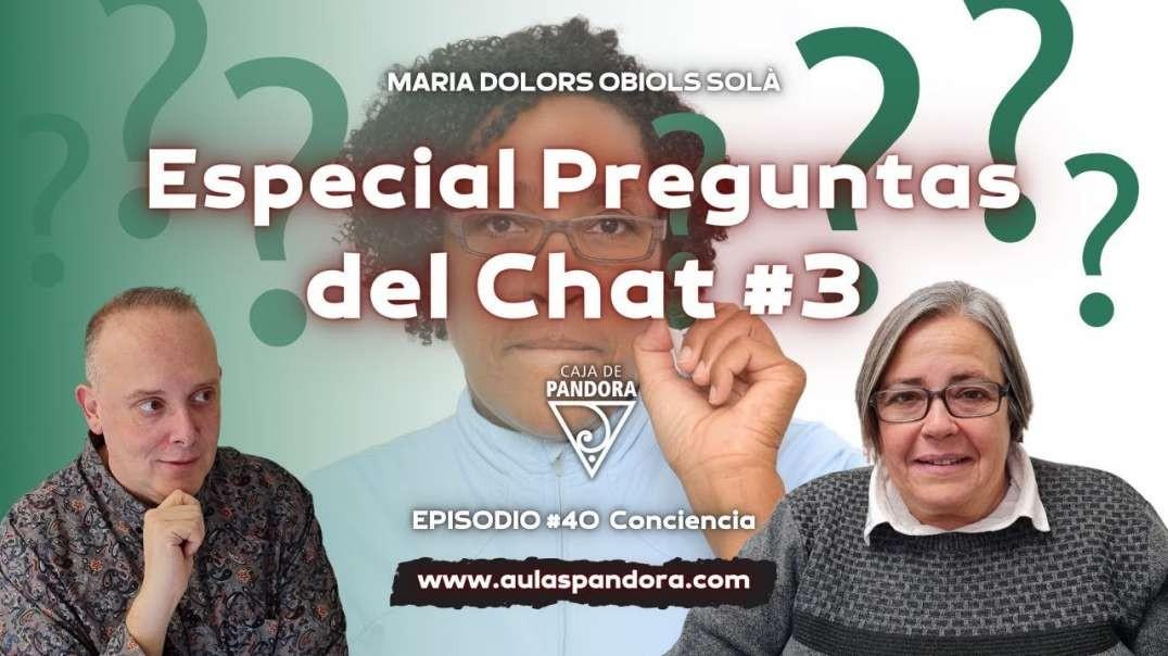 Especial Preguntas del Chat #3 con María Dolors Obiols Solà & Luis Palacios (1080p_30fps