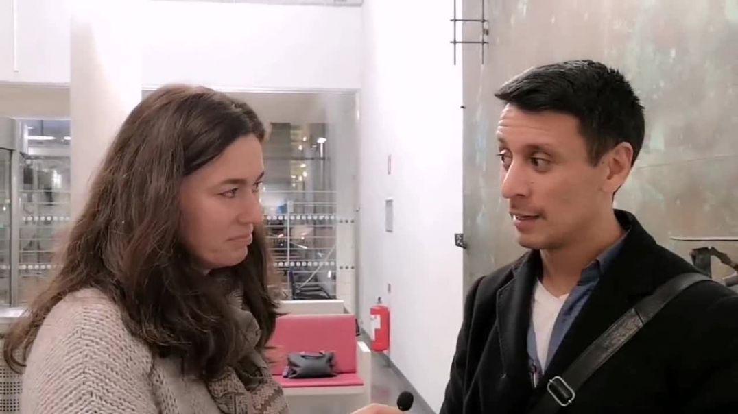 La Dra. Natalia Prego entrevista al Dr. Cristian  Duré, de Suecia.
