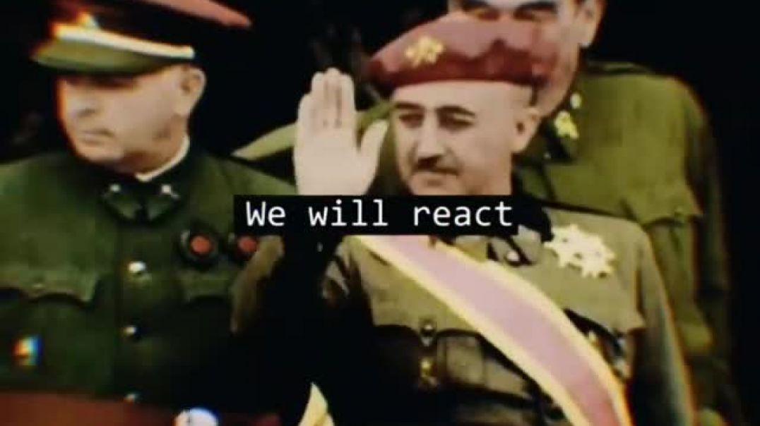 ¡Vamos a terminar con la cobardía, vamos a terminar con el miedo!