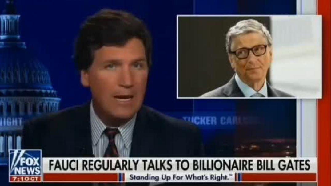 Anthony Fauci y Bill Gates (TRADUCCIÓN ABAJO).
