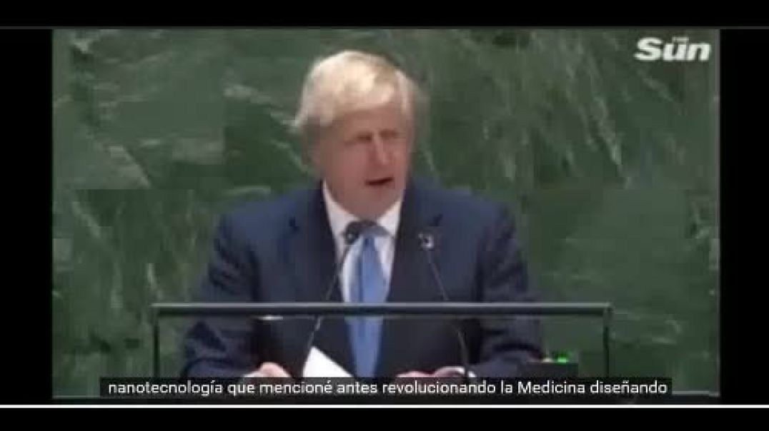 Boris Johnson Reconfirma Nanochips y Control Mental