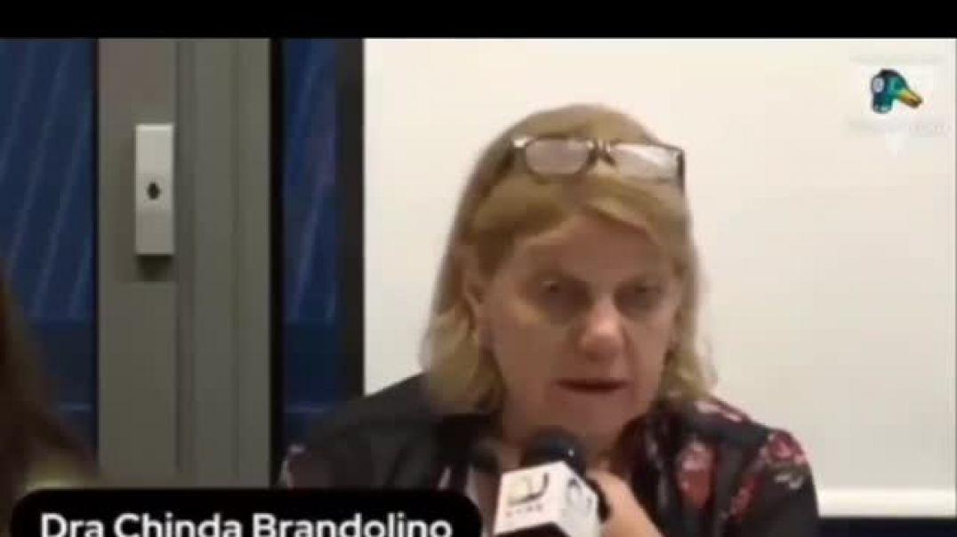 Dra Chinda Brandolino. Médicos por la verdad.