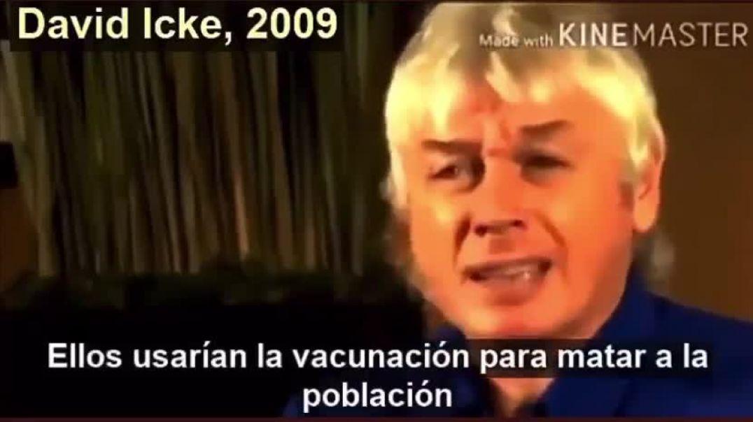 Año 2009 Fragmento de un video de David Icke