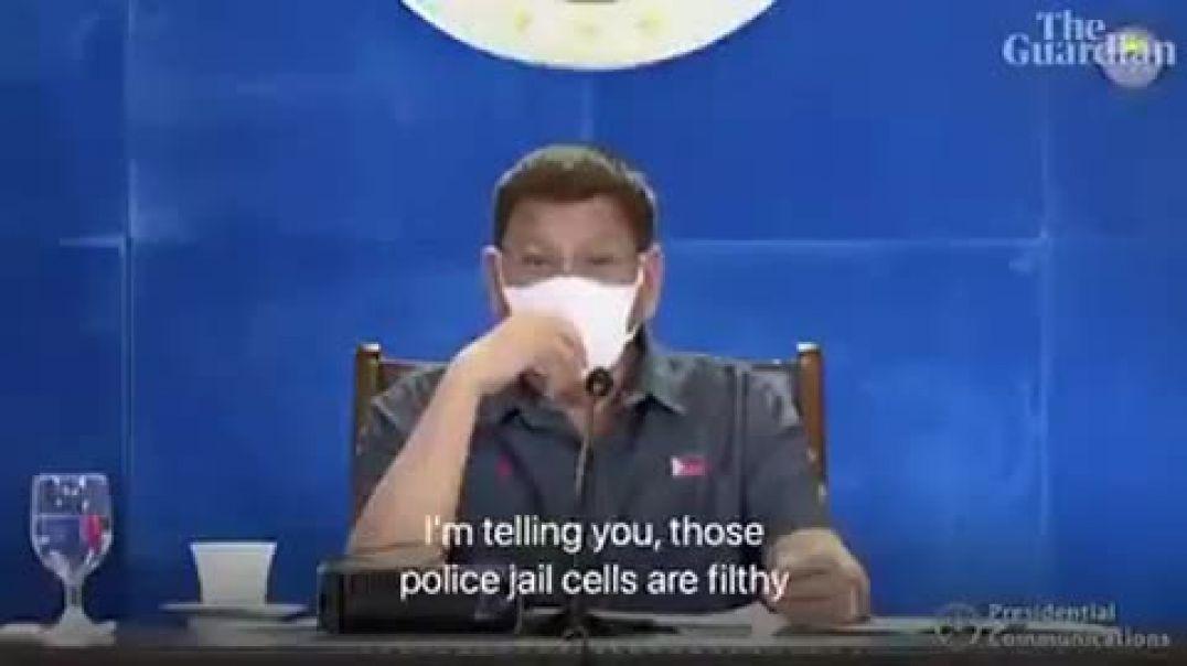 """Presidente de las filipinas: """"Escoge, Vacunate o te metere en la carcel"""""""
