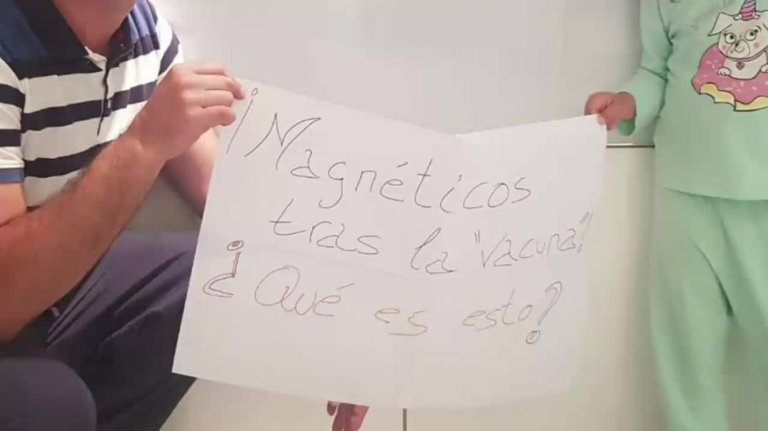 MAGNÉTICOS TRAS VACUNARSE ¿QUÉ ES ESTO? !!!!