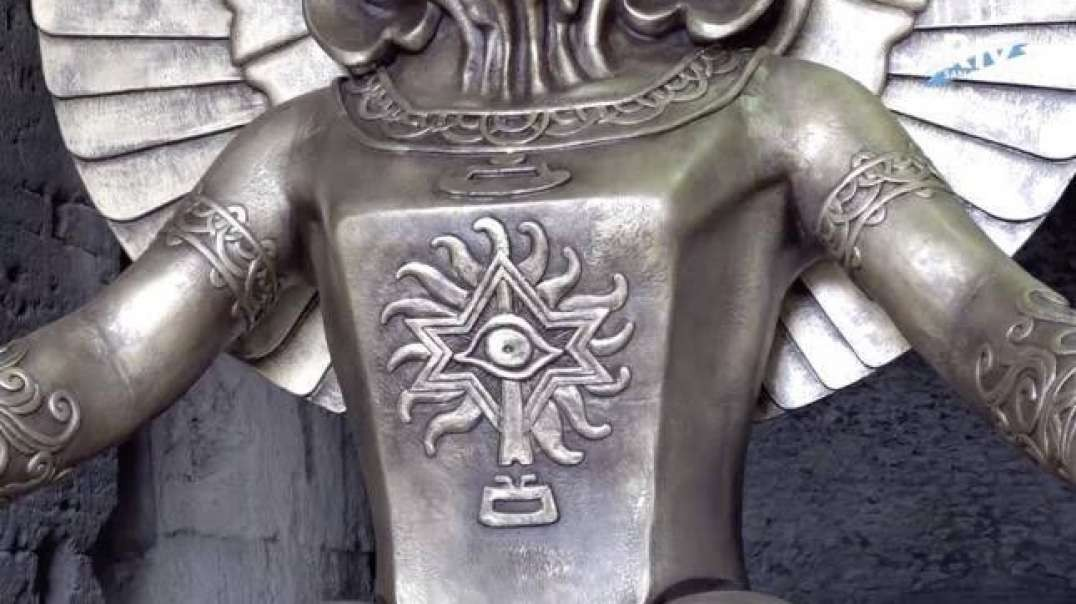 Statue of  MOLOCH EXPOSED at Colosseum