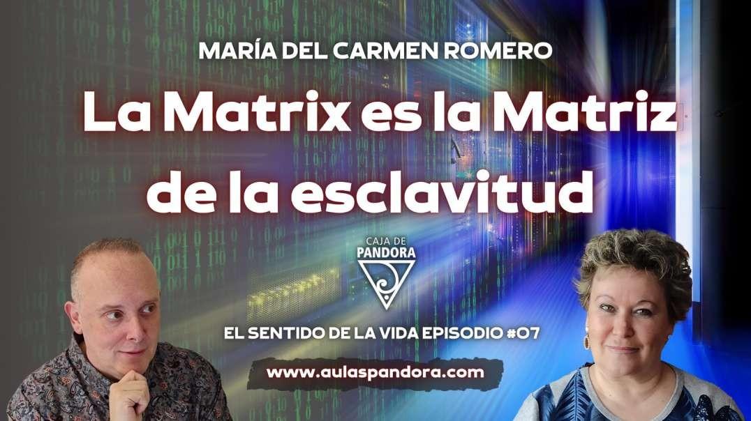 LA MATRIX ES LA MATRIZ DE LA ESCLAVITUD