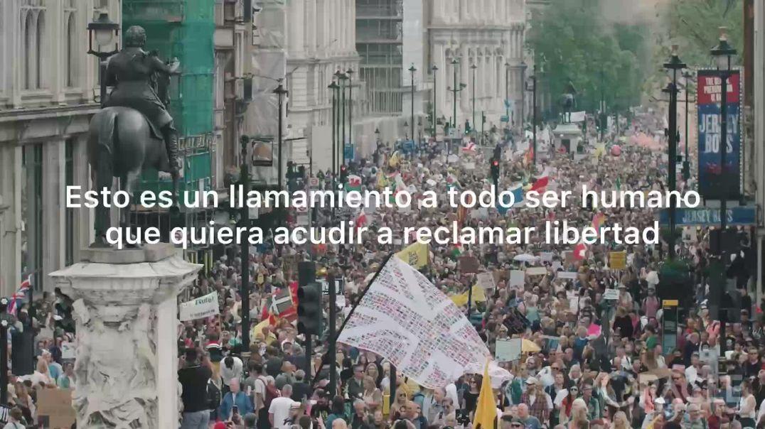 Manifestación contra la Dictadura Sanitaria el 26 de junio en Madrid