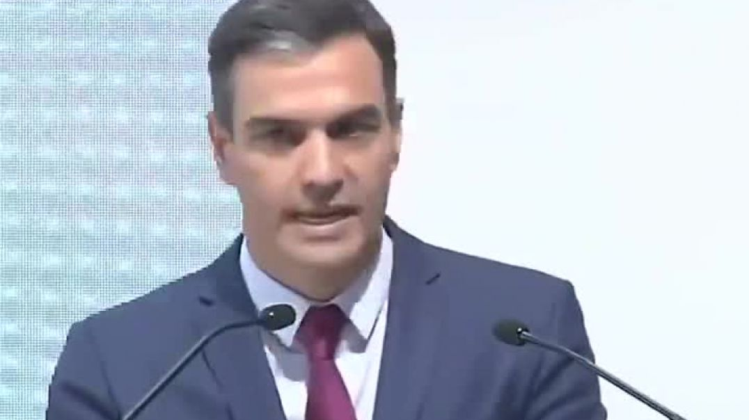 El felón Pedro Sánchez continúa puteando al pueblo con su bozal.