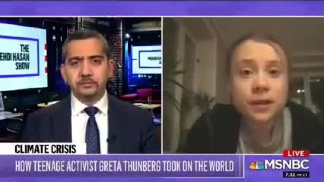 """¿Ha admitido Greta la turuleta que la """"crisis climatica"""" no existe?"""