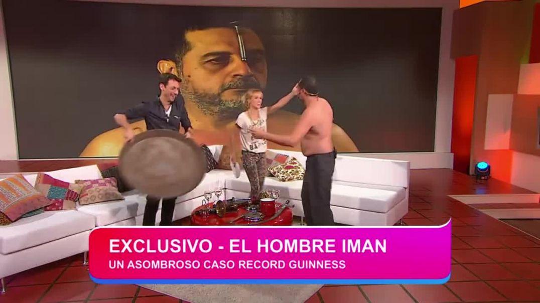 Ángel Cabral. El hombre imán. 2014.