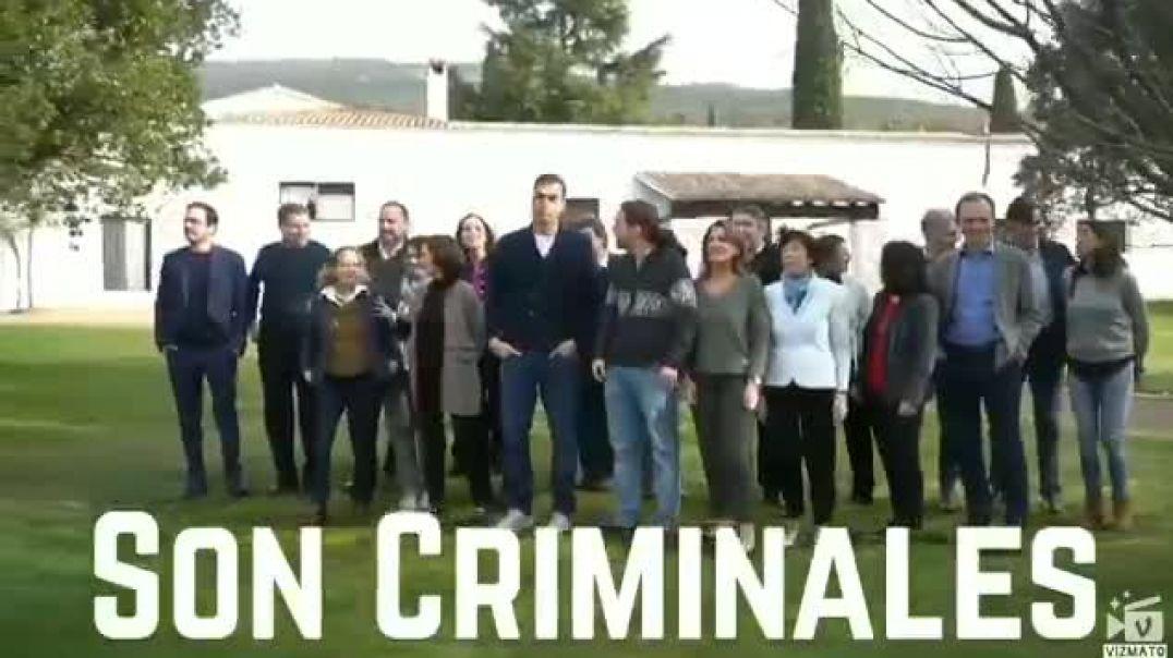 Todos los políticos Son Criminales.