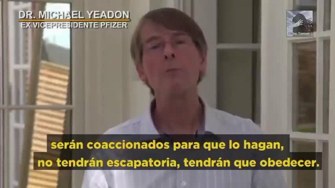 Dr. Michael Yeadon (Ex-vicepresidente de Pfizer): Los pasaportes de vacunación no benefician a nadie