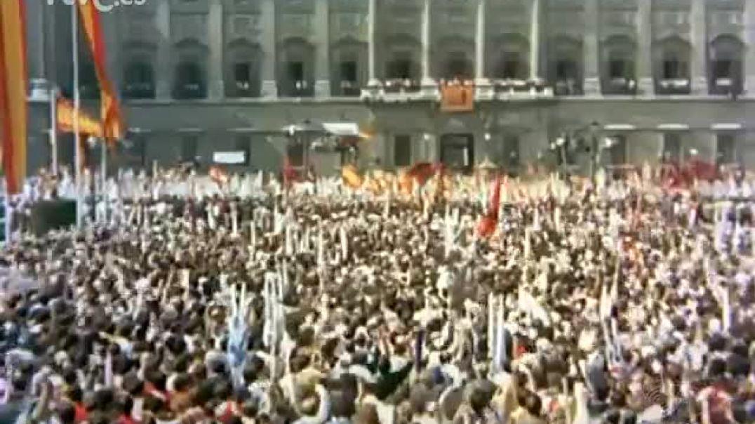 Los españoles ante Franco - Octubre 1971.