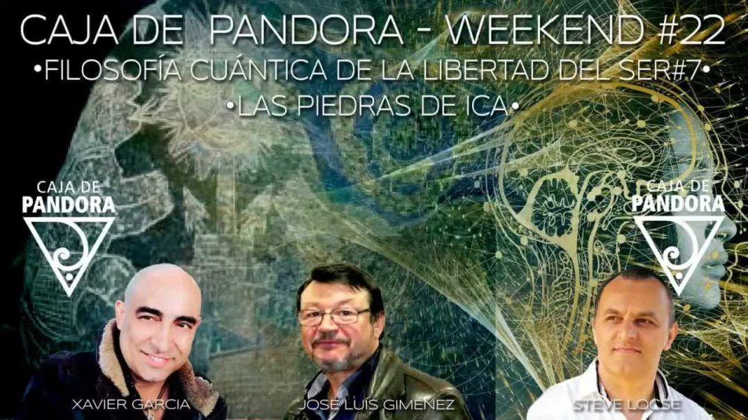 #CAJADEPANDORAWEEKEND 22 CON XAVIER GARCIA, STEVE LOCSE Y JOSE LUIS GIMENEZ