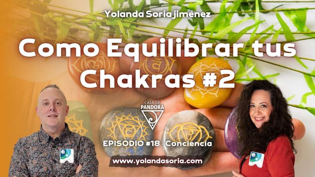 COMO EQUILIBRAR TUS CHAKRAS #2