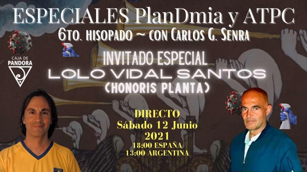 ESPECIAL TERTULIAS Sábados Episodio#6: Manuel Vidal Santos con Carlos Senra