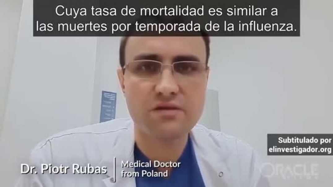 La mortalidad del virus es como la de una temporada de la influenza.