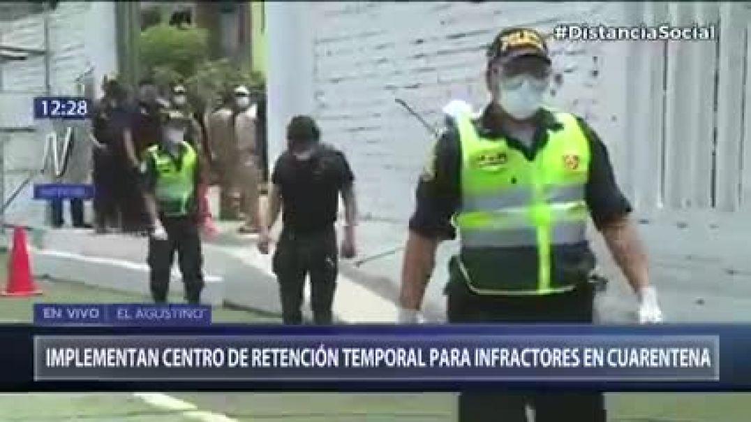 Perú... Campos de detención - Simulación.