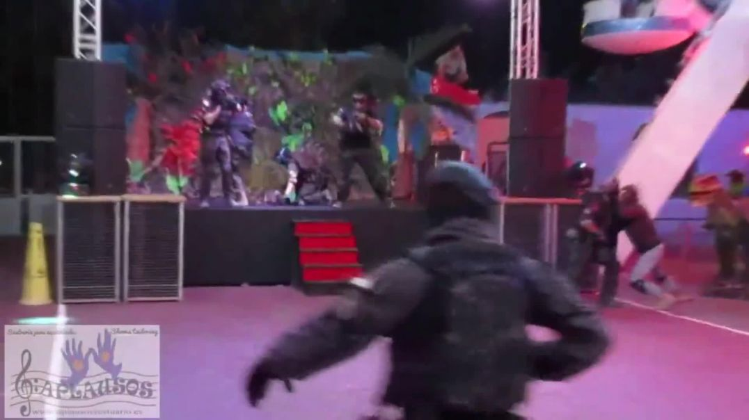 airsoft on stage