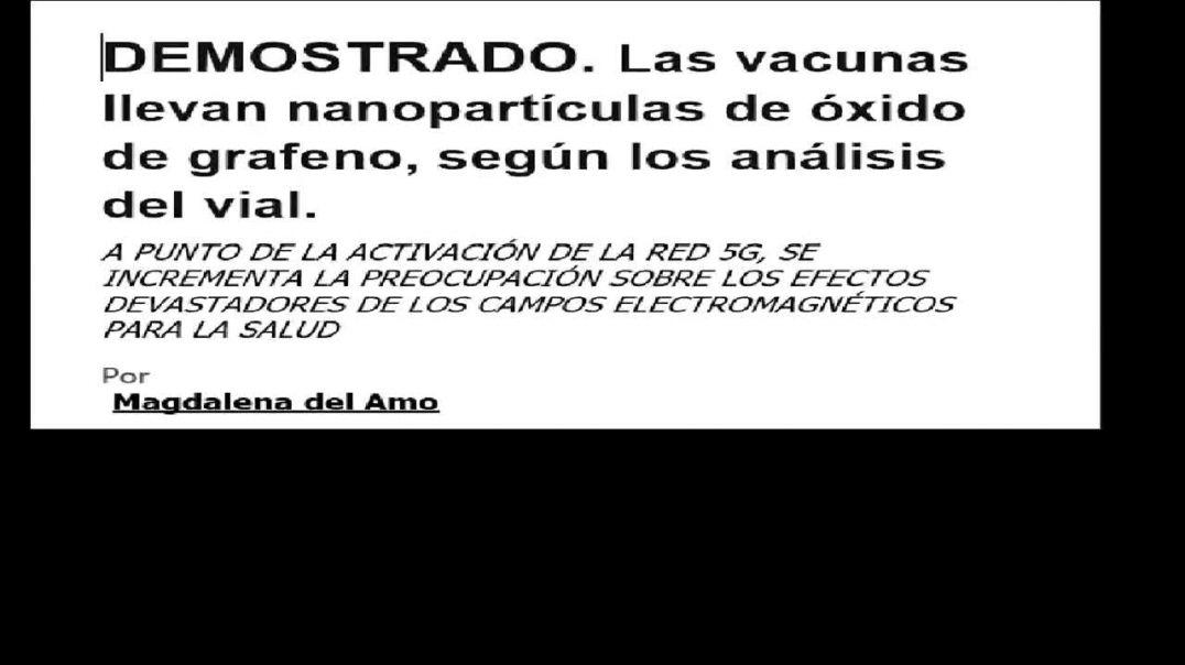 Las vacunas llevan nanopartículas de óxido de grafeno