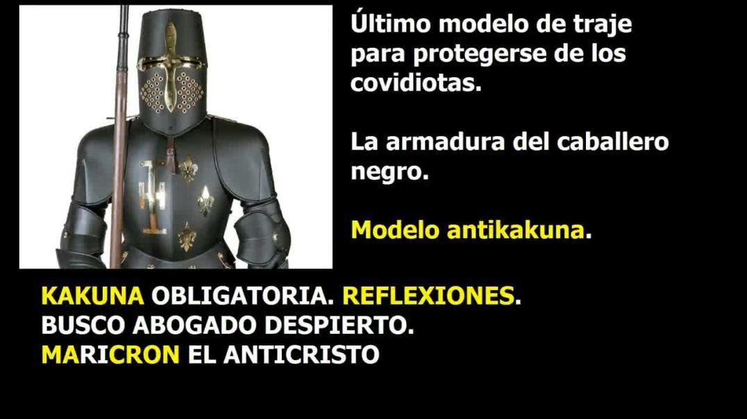 Kakuna obligatoria y Reflexiones y Maricron, EL ANTICRISTO