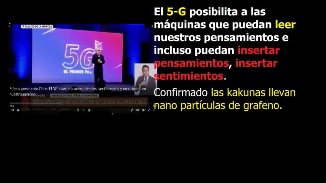 Presidente Chile dice que las máquinas leerán nuestros pensamientos