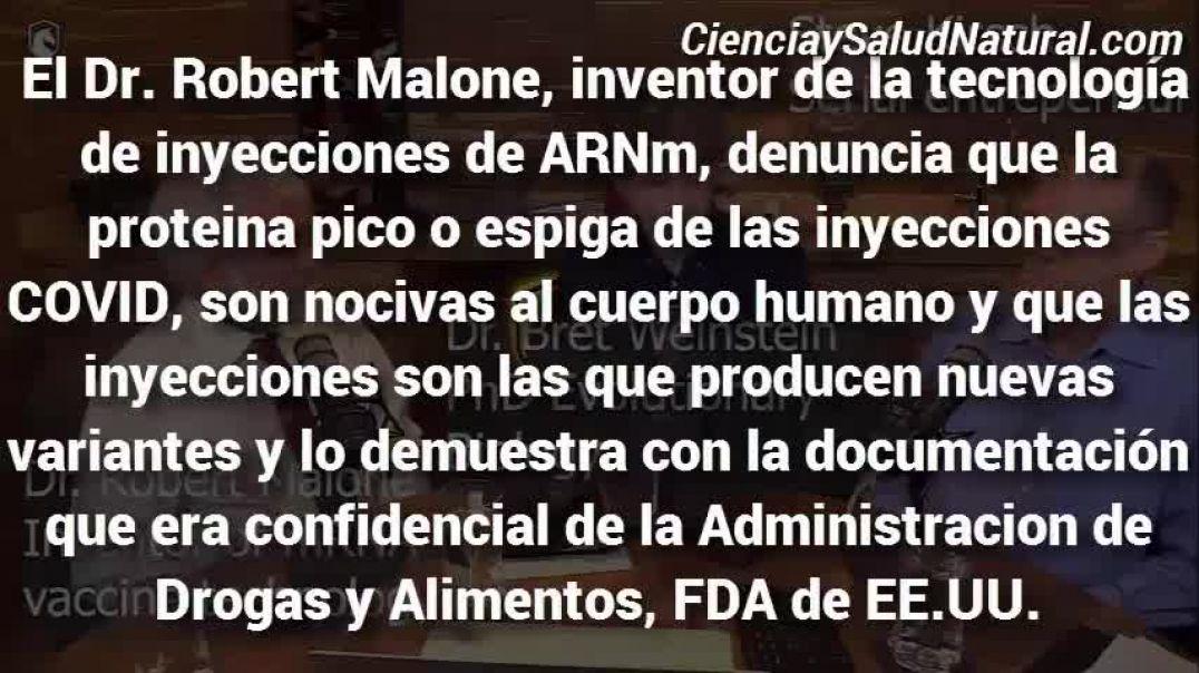 El propio inventor de las vacunas para covid advierte de los peligros de esta inyección experimental