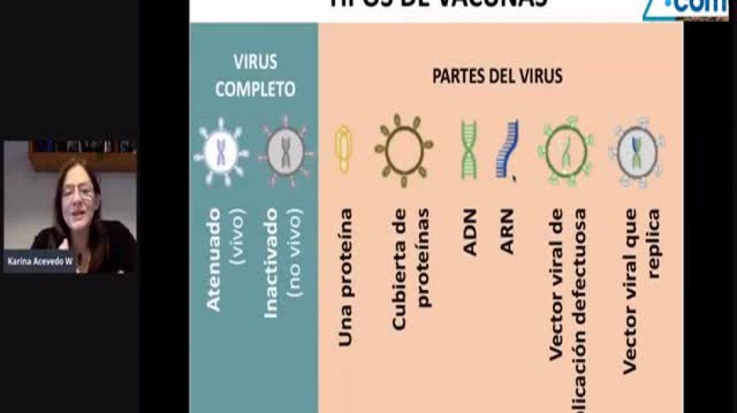 ¿Cuáles son los Tipos de Vacuna y sus Marcas comerciales? explicación por Karina Acevedo Whitehouse