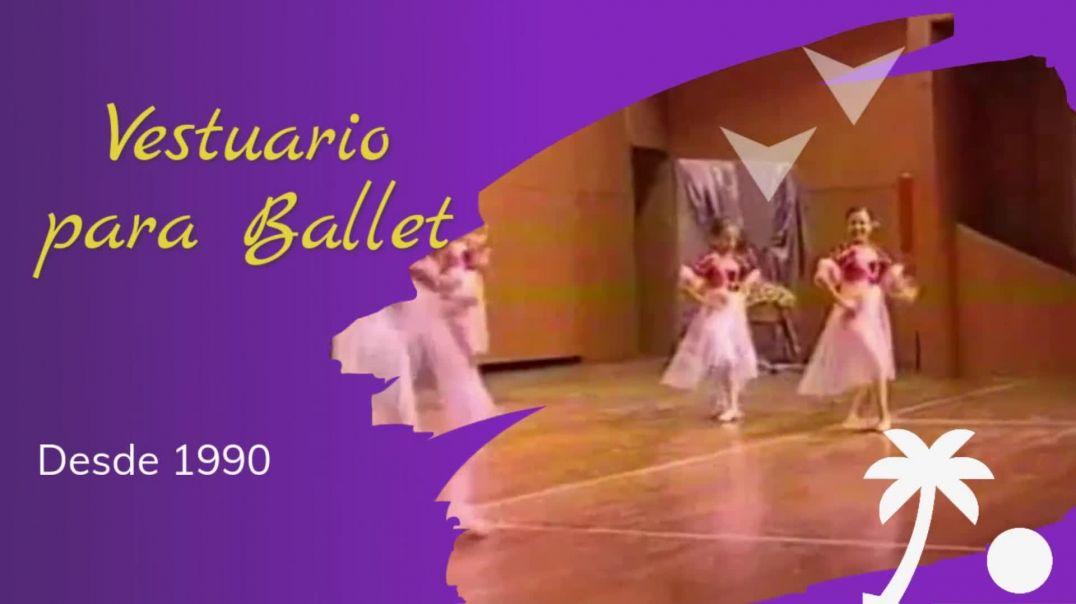 vestuario para ballet y danza