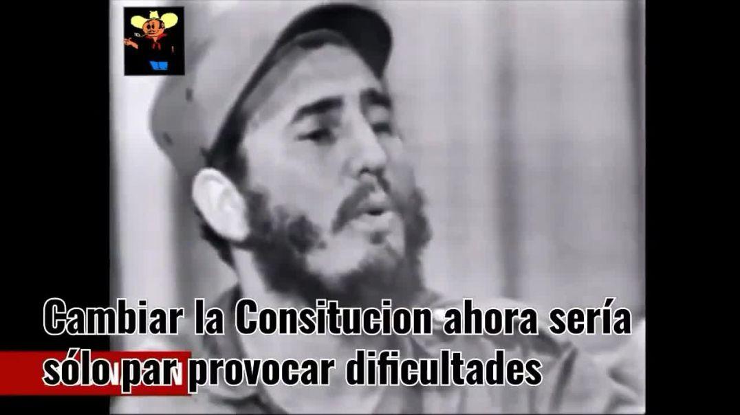 Fidel Castro - Jamás le he dicho una mentira al pueblo...