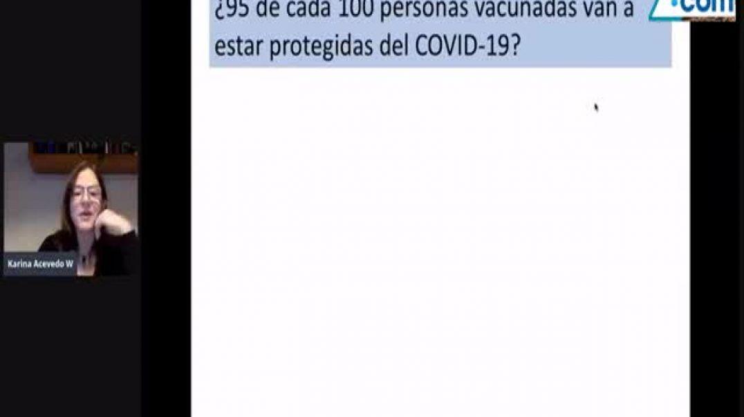 La Vacuna NO protege - explicación por Dr. Karina Acevedo Whitehouse