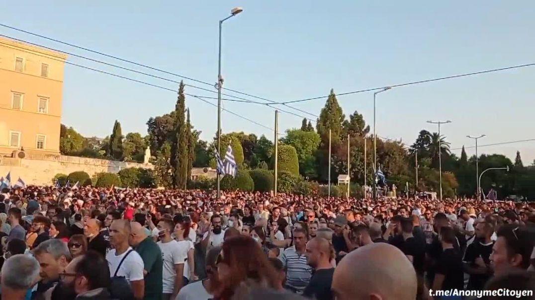 Grecia... Unidos contra la dictadura Globalista.
