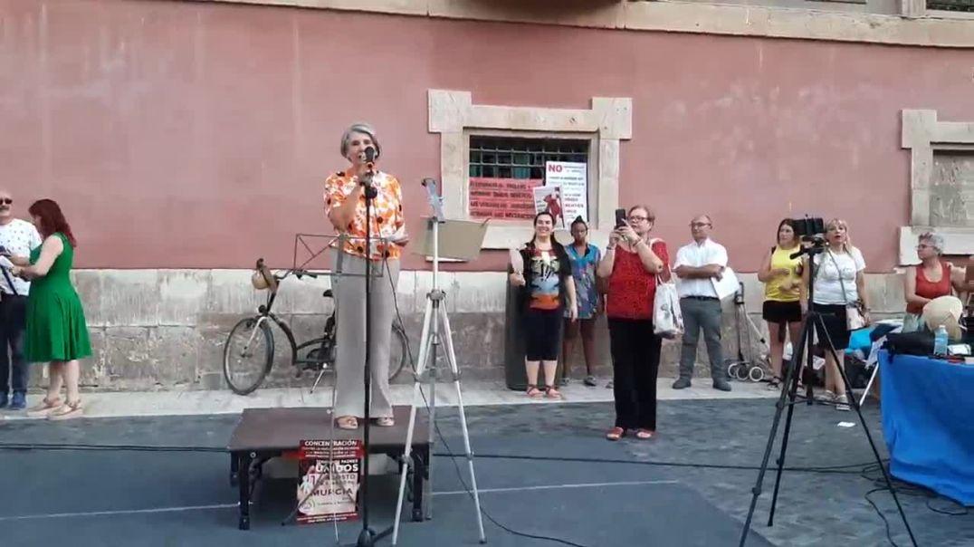 Dra. Mª José Martínez Albarracín en Murcia. 14/08/2021