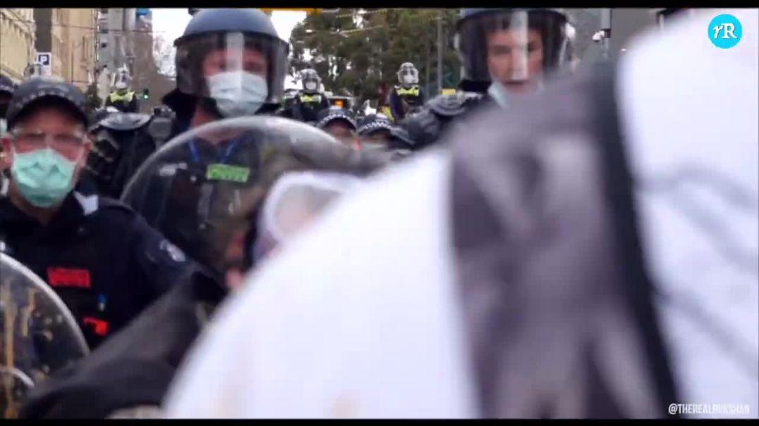 Resumen de las protestas en Australia y de la represion Policial