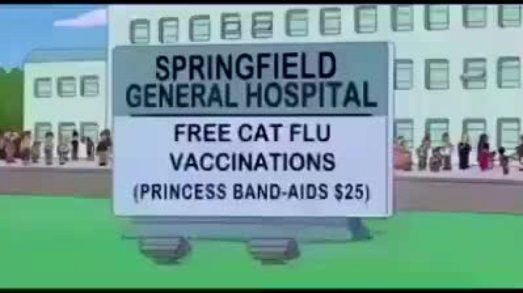 Los Simpson vaticinaron la pandemia.
