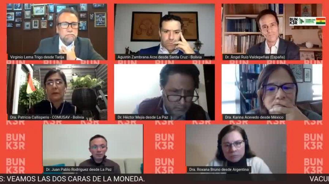 2021-03-20 - DEBATE MEDICO EN BOLIVIA SOBRE VACUNA COVID19 - EDITADO- INOCULAMOS A LOS JOVENES
