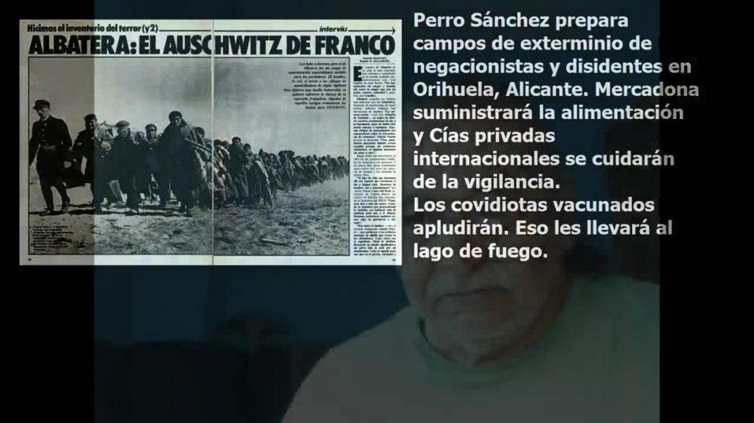 Campos de Exterminio, Reeducación y Concentración en Orihuela