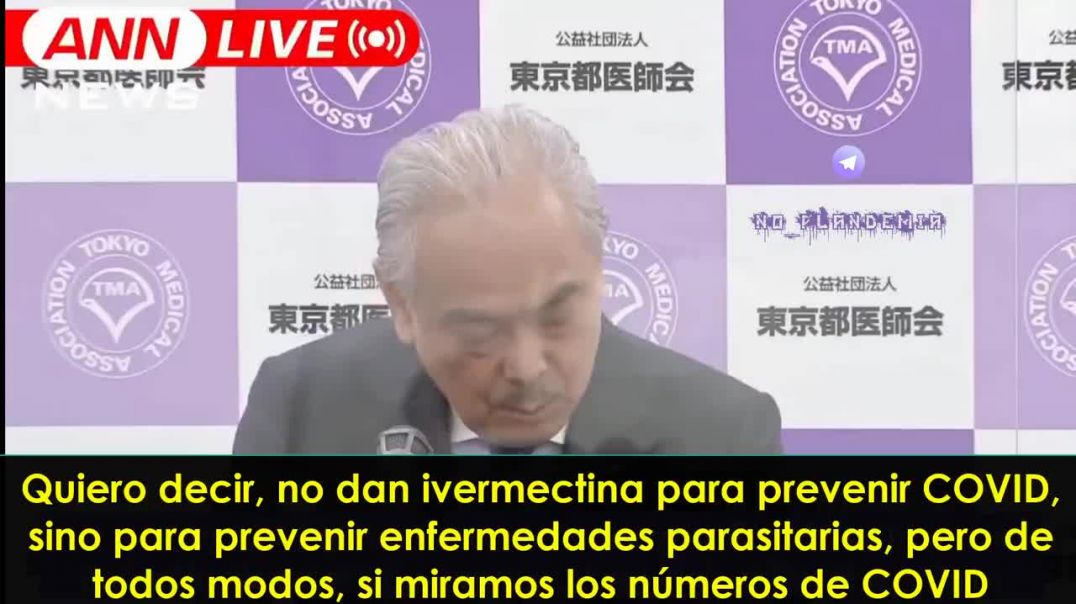 El doctor Haruo Ozaki recomienda el uso urgente de la Ivermectina para tratar el Covid-19