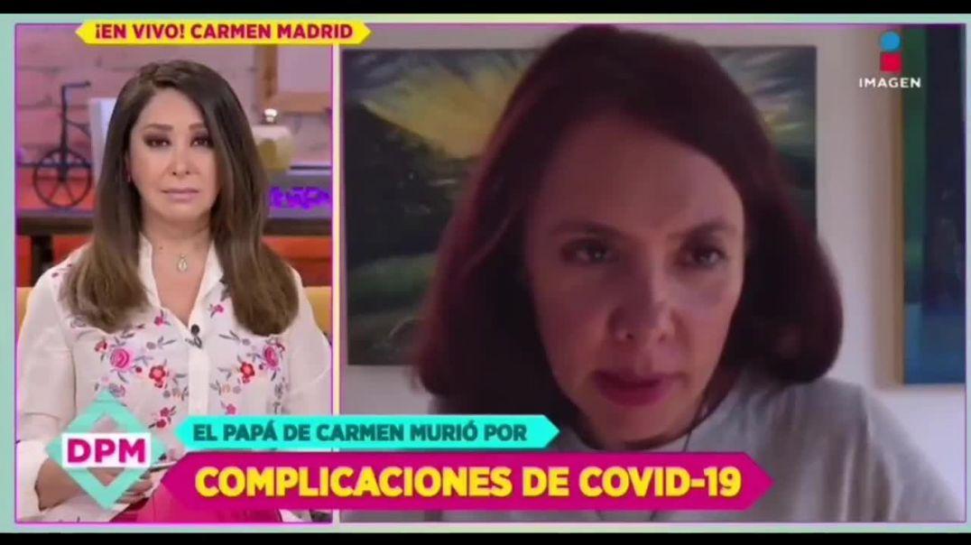 Impresionante  testimonio de la famosa actriz y guionista mexicana Carmen Madrid