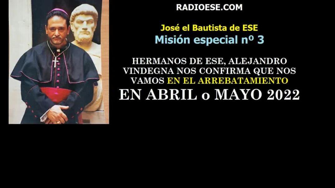 José el Bautista de ESE en misión especial n 3