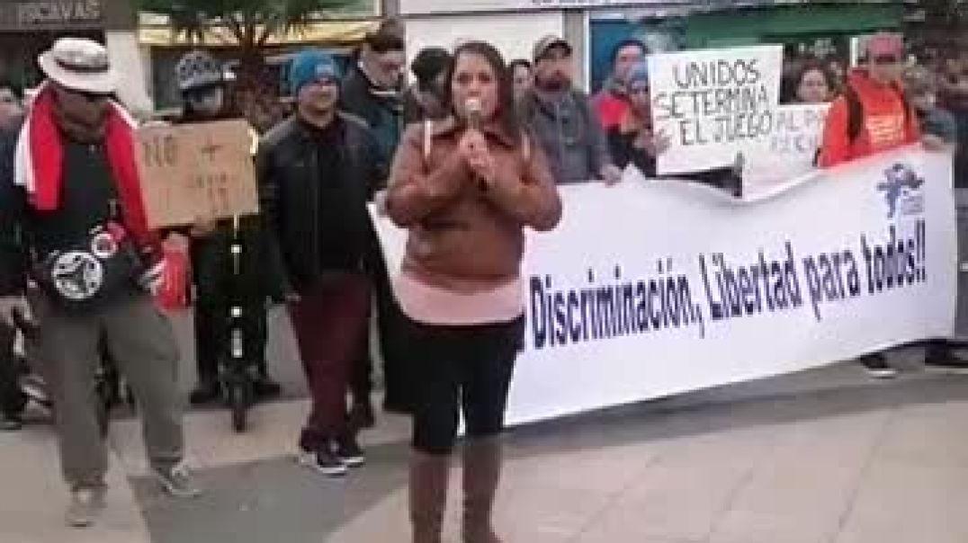 2021-08-14-Natalia Ravanales Abogada saca la voz contra plandemia en Viña del Mar  de Chile