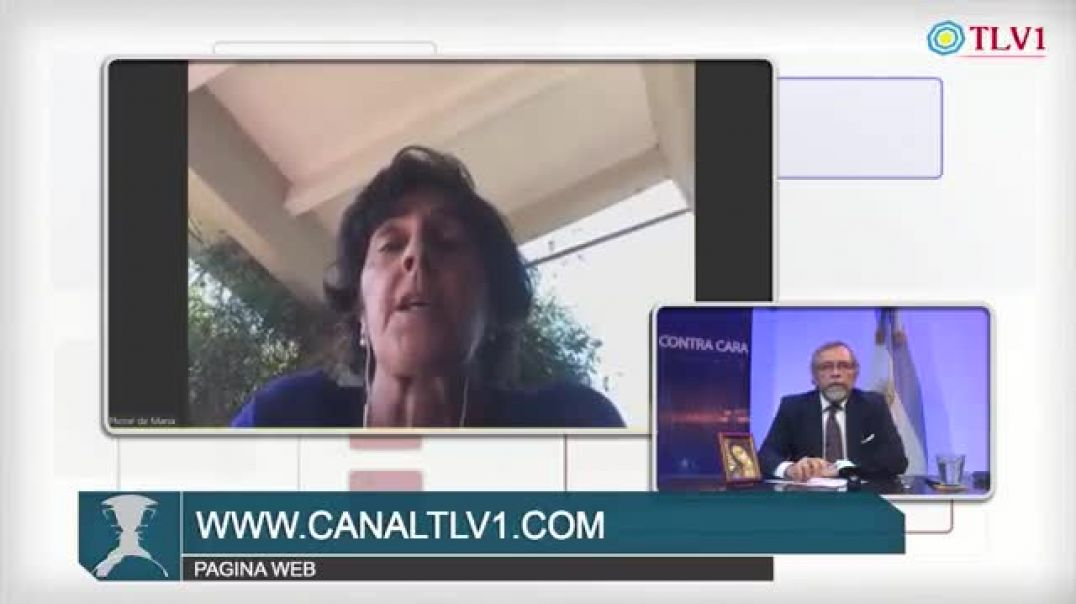 La doctora Maria Mirande con escalofríos por ver lo que esta pasando en primera linea de todo el mun