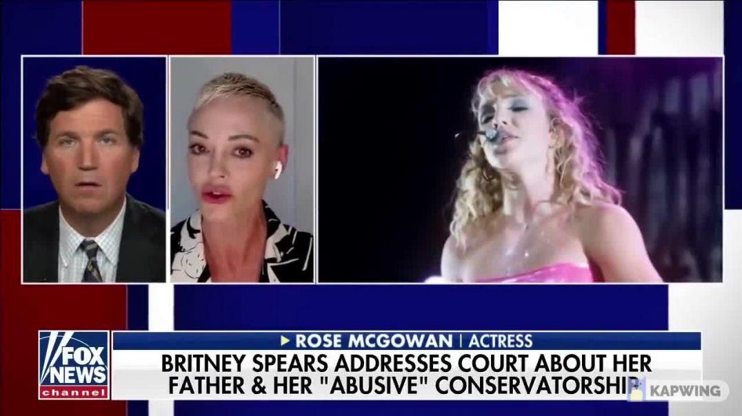 Rose Mcgowan... La fama, Hollywood y la maquinaria mediática están podridos hasta la médula.